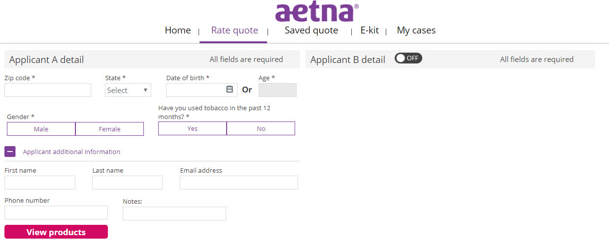 Senior Benefit Services, Inc  Aetna Quoting Tool Update