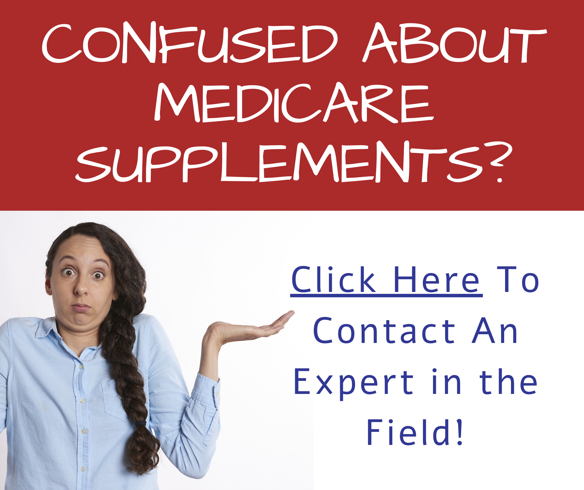 Confused About Medicare Supplements Facebook Post
