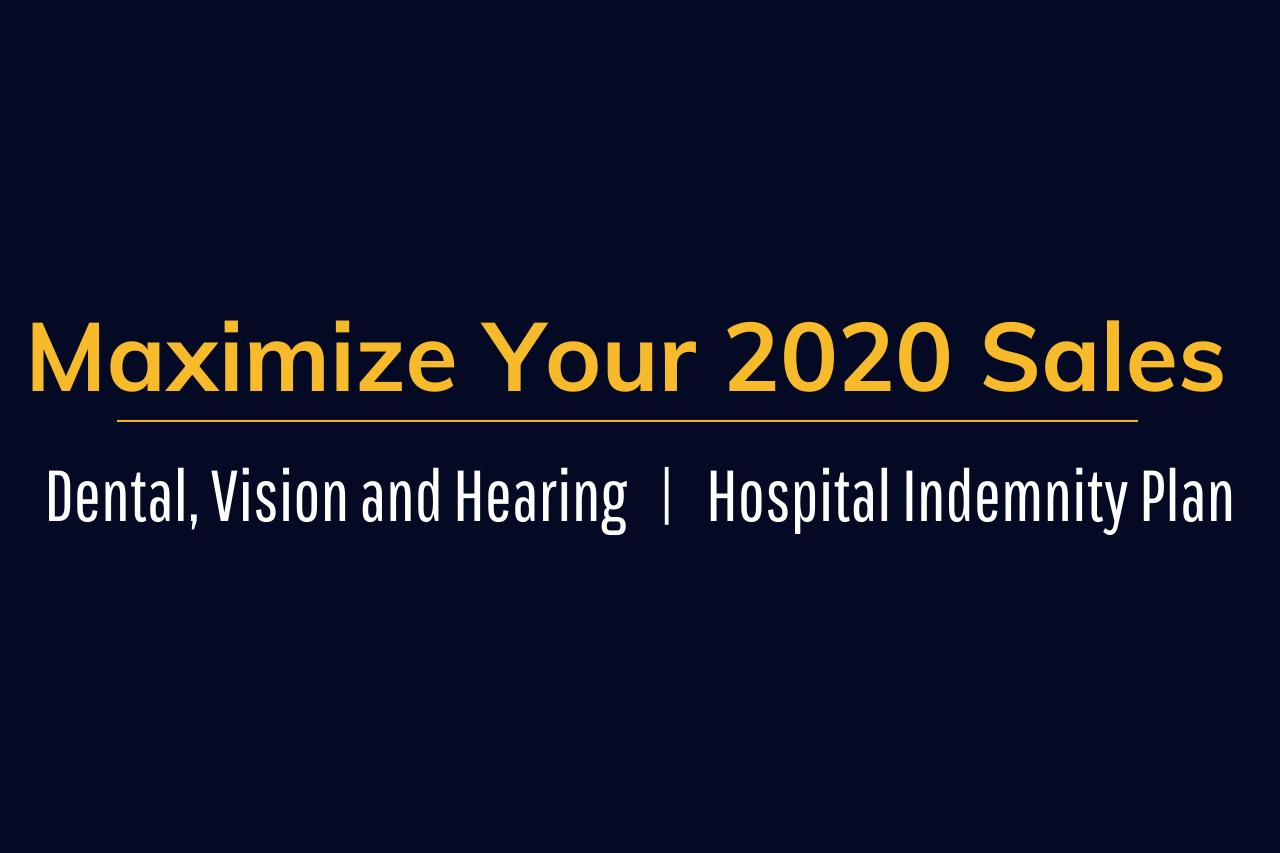 Maximize Your 2020 Sales